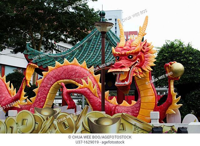 2012 Dragon Year in Chinatown Heritage, Singapore
