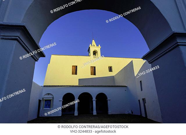 Church in Sant Miquel de Balansat (San Miguel), Ibiza