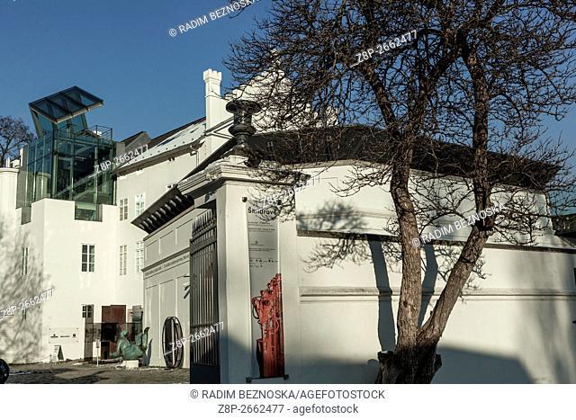 Museum of Contemporary Art on Kampa Island, Prague, Czech Republic