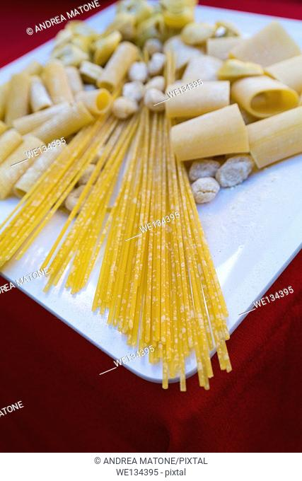 Fresh made pasta assortment