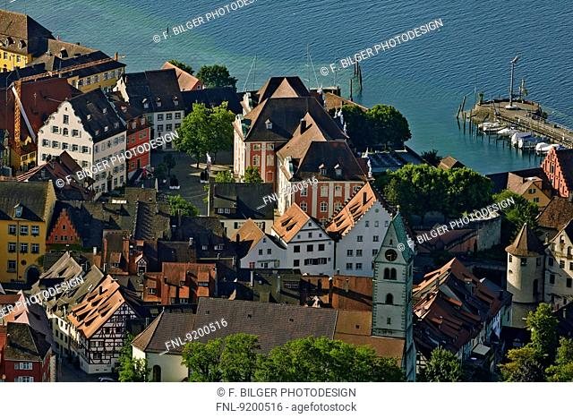 Meersburg at Lake Constance, Baden-Wuerttemberg, Germany