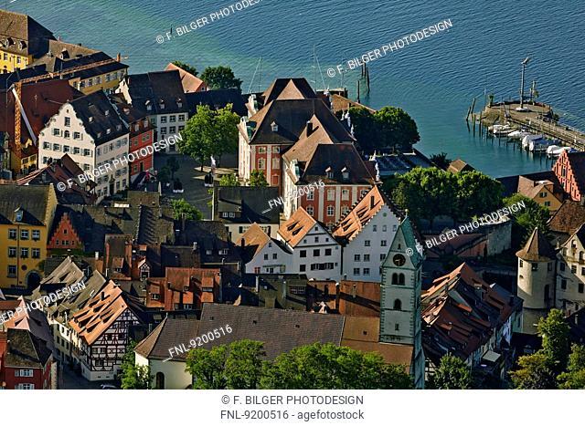 Meersburg at Lake Constance, Baden-Wuerttemberg, Germany