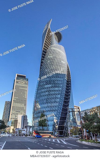Japan ,Nagoya City, Spiral Towers Bldg