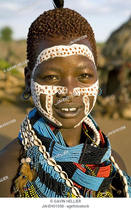 Hamer Tribe, Denbiti Village, Lower Omo Valley, Southern Ethiopia