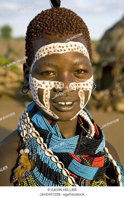 Hamer Tribe, Denbiti Village, Lower Omo Valley, Southern Ethiopia