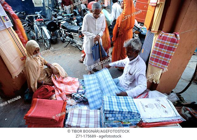Shopping. Jaipur. Rajasthan, India