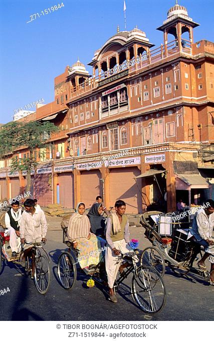 India Jaipur rickshaws