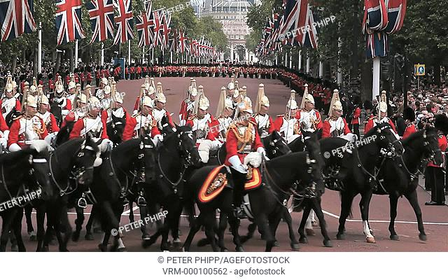 The Queens Mounted Cavalry Blues and Royals