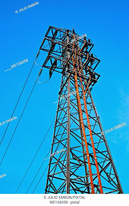 tower distribution of electrical energy