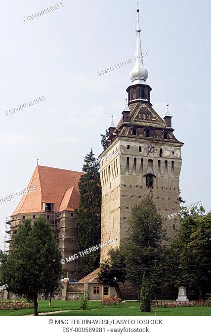 Fortified Church of Chachitz, Transylvania, Romania Eglise fortifiée de Chachitz, Transylvanie, Roumanie, UNESCO World Heritage Site
