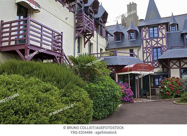 Manoir de Cunningham Hotel, St Servan, ille et vilaine, brittany, france