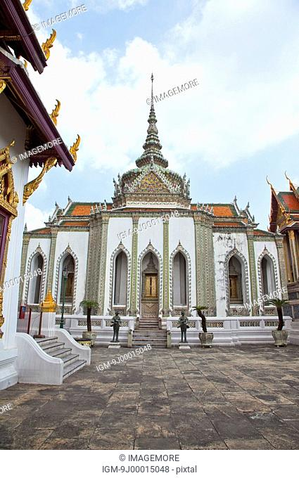 Thailand, Bangkok, Grand Palais, Wat Phra Kaeo, Dusit Throne Hall