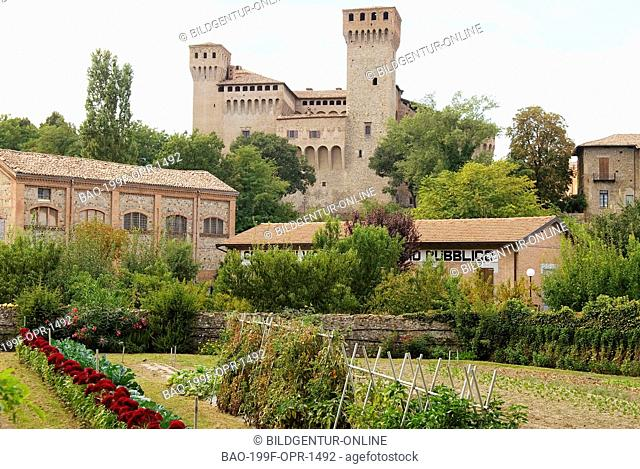 The Rocca of Vignola, a city and a comune in the province of Modena Emilia-Romagna, Italy