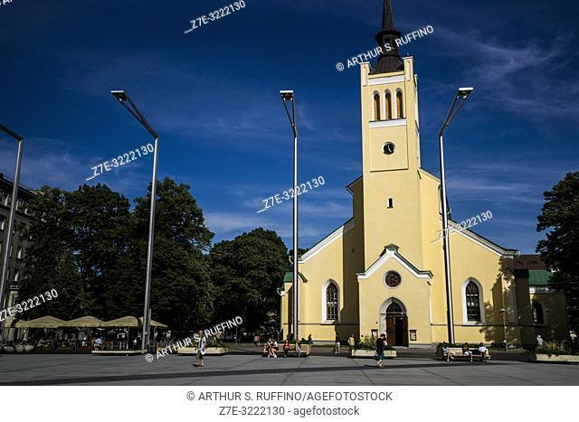 St. John's Church, Freedom Square, Old Town, Tallinn, Estonia, Baltic States