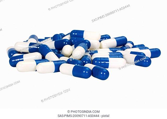 Close-up of capsules