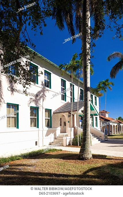 USA, Florida, Delray Beach, Cornell Museum of Art and History