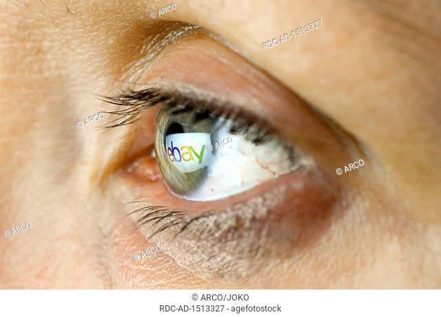 Auge, Logo ebay