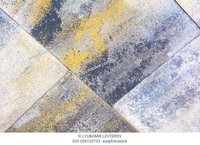 Background from granite. Beautiful flooring for sitting room or garden