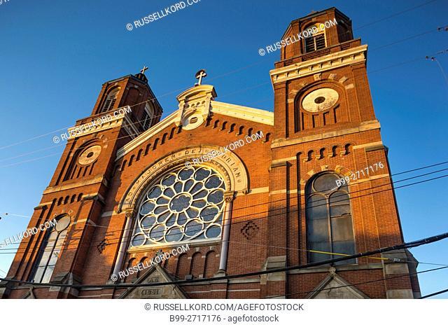 SAINT STANISLAUS KOSTKA POLISH ROMAN CATHOLIC CHURCH STRIP DISTRICT DOWNTOWN PITTSBURGH PENNSYLVANIA USA