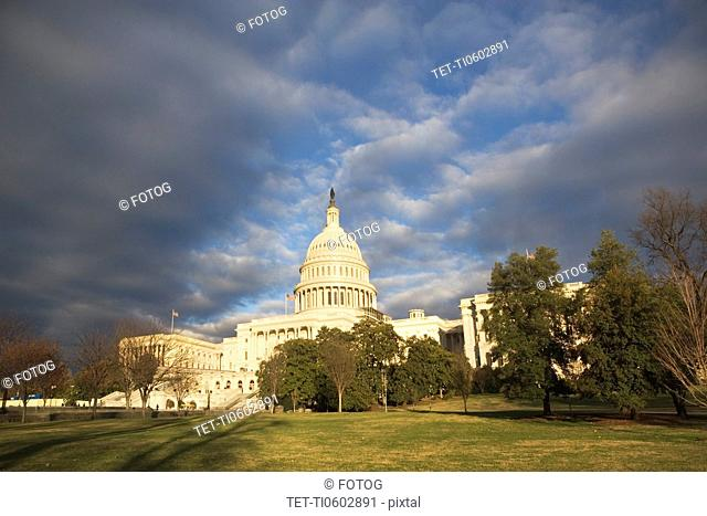 USA, Washington DC, capitol building