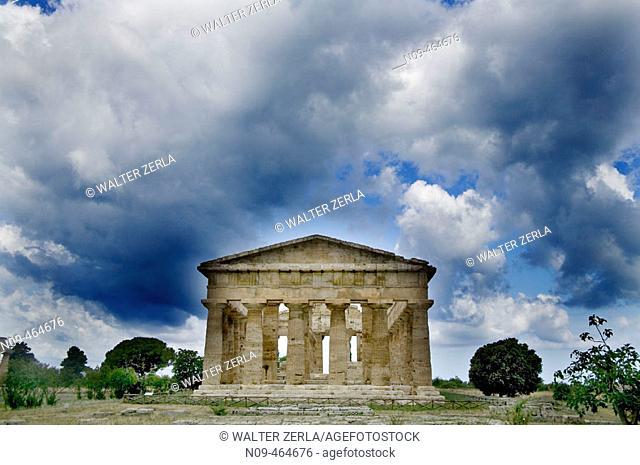 Temple of Neptune. Paestum. Italy