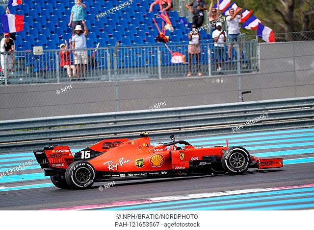 23.06.2019, Paul Ricard Circuit, Le Castellet, FORMULA 1 PIRELLI GRAND PRIX DE FRANCE 2019, 21 - 23.06.2019, picture Charles Leclerc (MCO # 16)