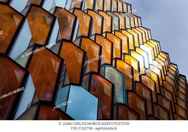 Harpa concert hall and conference centre in Reykjavík, Iceland, Europe
