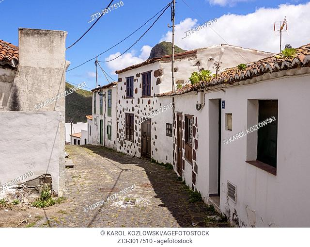 Taganana Village, Anaga, Tenerife Island, Canary Islands, Spain