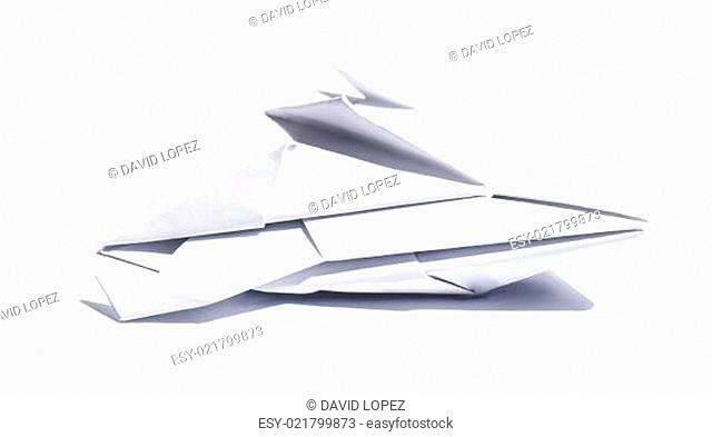 Spaceship of paper