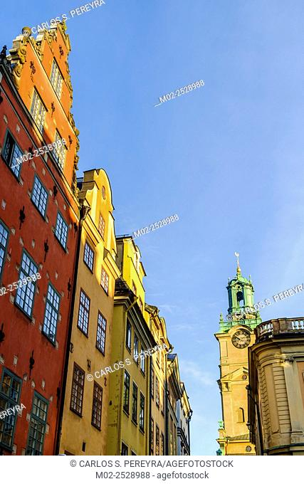 View of Gamla Stain, Stockholm, Sweden