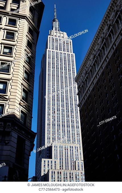 New York City, Manhattan, Empire state Building