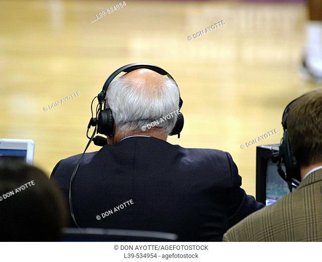 Billy Packer was shot at the 2006 Sweet Sixteen Basketball Tournament