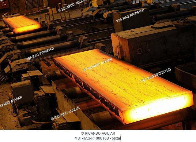 Iron ore, Siderúrgia, CSN, Volta Redonda, Rio de Janeiro, Brazil