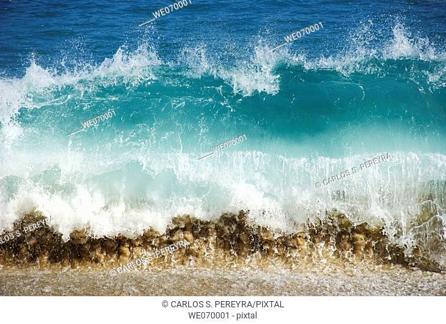 Waves. South Baja California, Mexico