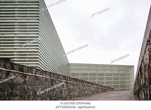 CONTEMPORARY ARCHITECTURE, THE KURSAAL CONVENTION CENTER, THE KURSALL CUBES, SAN SEBASTIAN, DONOSTIA, BASQUE COUNTRY, SPAIN