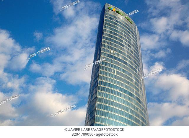 Iberdrola tower, Bilbo-Bilbao, Biscay, Basque Country, Spain