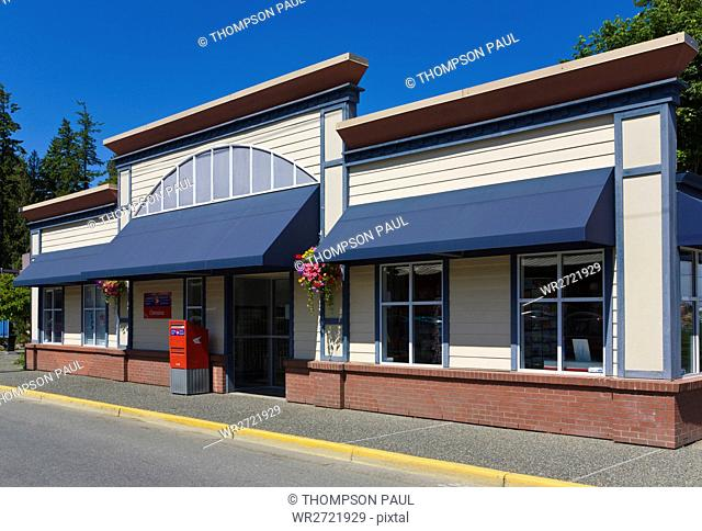 Post Office, Chemainus, Vancouver Island, British