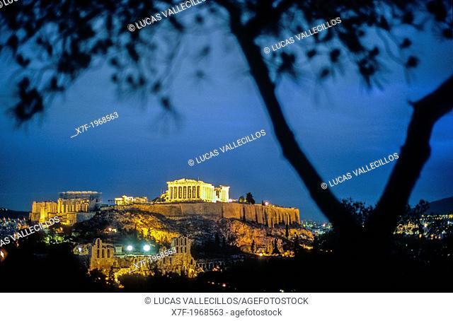 Acropolis, Athens, Greece, Europe