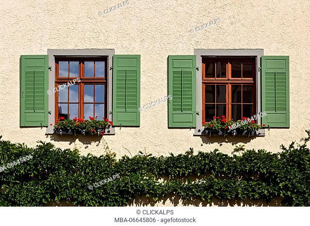 Baden-Wurttemberg, Meersburg, Lake Constance, Germany, Europe. Burg Meersburg