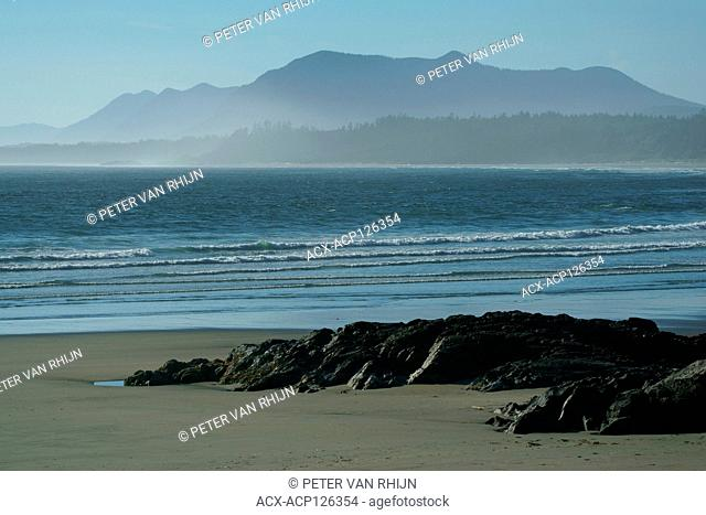 View of Long Beach,Pacific Rim National Park,British Columbia,Canada