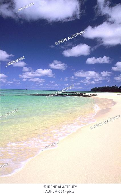 Mauritius - East Region - Ile aux Cerfs - seascape - seaside - beach