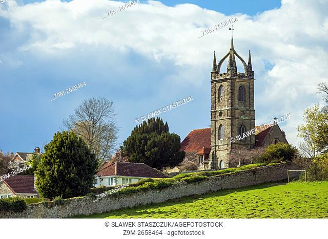 All Hallows church in Tillington near Petworth, West Sussex, England