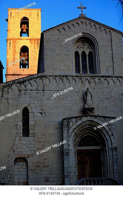 Church. Grasse, Alpes Maritimes, 06, PACA, France