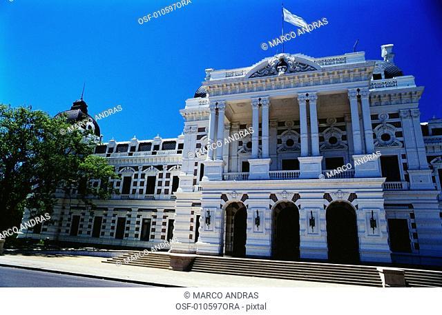 buenos aires argentina building facade architecture