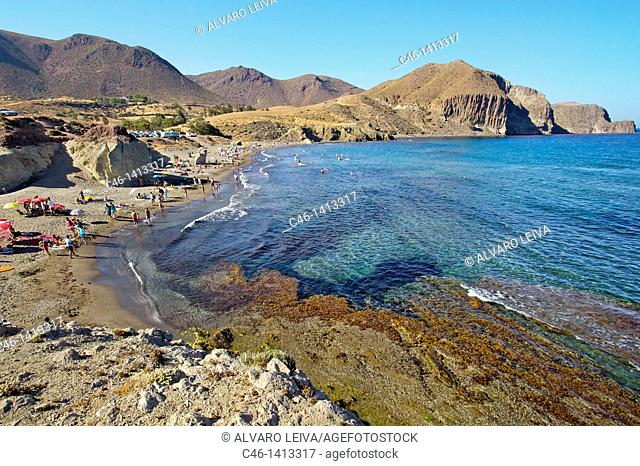 Isleta del Moro fishing village  Natural Reserve of Cabo de Gata-Ni'jar  Almeri'a province  Andalusia  Spain