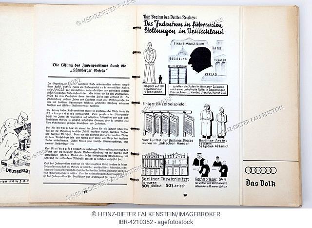 Nazi propaganda in Nazi Germany, citizen's guide by Max Eichler, 1937, Deutsches Reich, Germany
