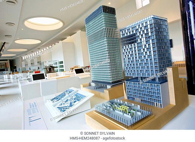 France, Paris, Palais de Chaillot, Cite de l'Architecture et du Patrimoine City of Architecture and Patrimony