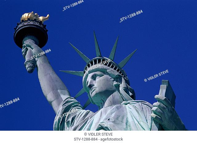 America, City, Crown, Democracy, Freedom, Holiday, Landmark, Liberty, New york, New york city, Statue, Statue of liberty, Symbol