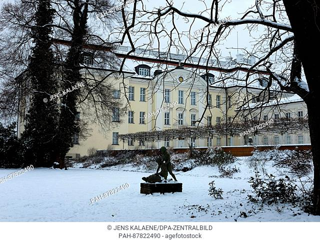 The exterior of Koepenick Palace on a grey winter day in the heart of Koepenick in Berlin, Germany, 02 February 2017. The building houses the State Arts and...