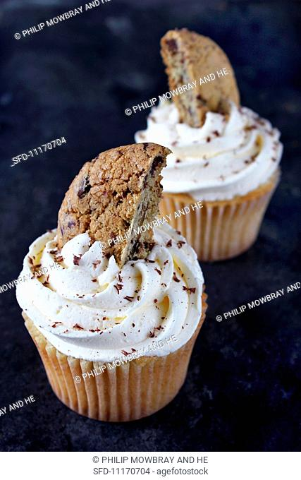 Cupcakes with chocolate chips